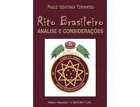 RITO BRASILEIRO – ANÁLISE E CONSIDERAÇÕES