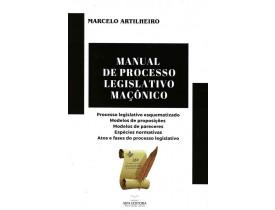 MANUAL DE PROCESSO LEGISLATIVO MAÇÔNICO