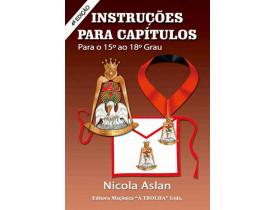 INSTRUÇÕES PARA CAPÍTULOS - GRAU 15 AO 18