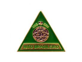 ALFINETE TRIÂNGULO RITO BRASILEIRO