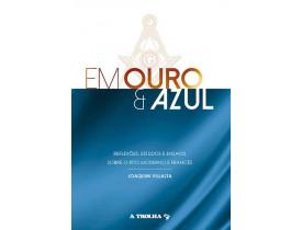 EM OURO E AZUL