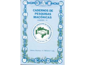 CADERNO DE PESQUISAS MAÇONICAS 13