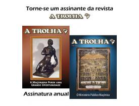 ASSINATURA ANUAL REVISTA TROLHA